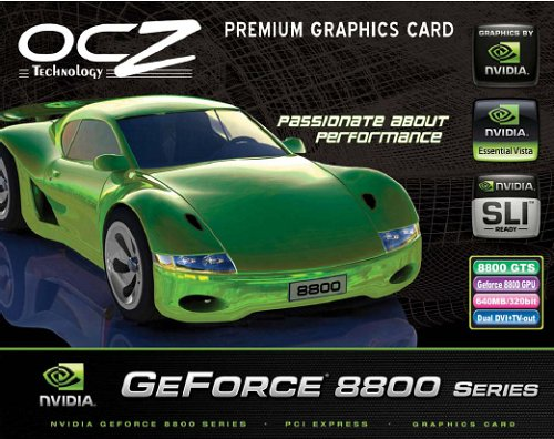 Supposed box art the new OCZ venture into the world of graphics cards. Look out for CES, because OCZ claims that the card will be like no other.