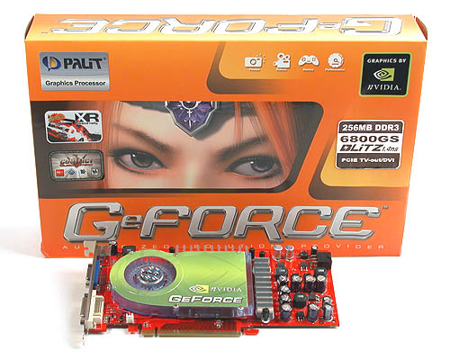 The next in Palit's recent line of 'Blitz' graphics cards, this is based on NVIDIA's GeForce 6800 GS GPU.