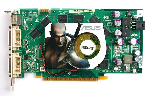 The ASUS EN7900GT doesn't adorn any frills and is strictly based on the reference design.
