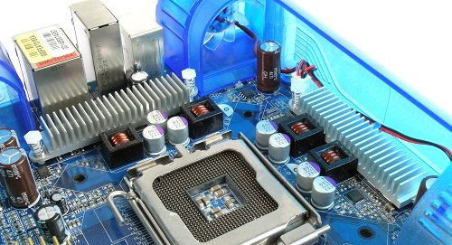 Components within the Turbojet construct all have heatsinks for increased cooling capacity.
