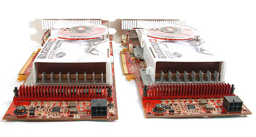 Two Radeon X1800 XT cards, double the noise level.