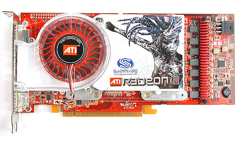 The Radeon X1900 XTX looks exactly like the Radeon X1900 XT and it could just as easily be mistaken for a Radeon X1800 XT.