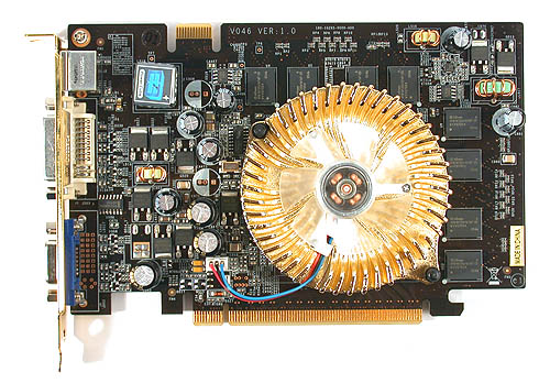 The black and gold appearance of the MSI NX6600 Ares instantly reminded us of Creative sound cards.