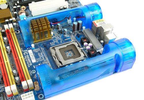 Gigabyte's new Turbojet Technology looks outlandish, but it gets the job done remarkably well.