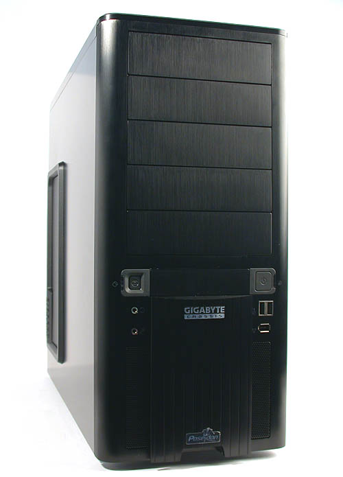 It may be as black as Gigabyte's 3D Aurora but the Poseidon is of a different breed.