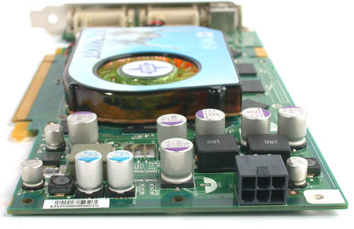 The GeForce 7900 GT may consume less power than the GeForce 7800 GT but that doesn't mean that you don't need to plug in the separate power connector. You can actually start your system successfully without connecting it but your NVIDIA drivers would probably complain.