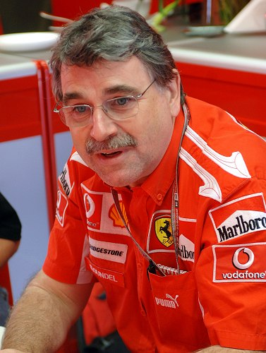 Dieter Gundel, Head of Racetrack Electronics, Ferrari Racing Team.