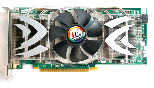 As you can see, this is a reference card, with a Inno3D sticker on its fan.