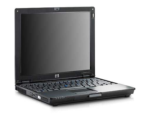 The HP Compaq nc4400 is yet another thin and light notebook with a 12.1-inch widescreen display and durable glass writing surface for the table PC. It weighs 1.8kg and features either Intel Core Duo or Celeron M processors. The nc4400 is also compatible with HP's Extended Life and Ultra Capacity batteries for all-day computing.