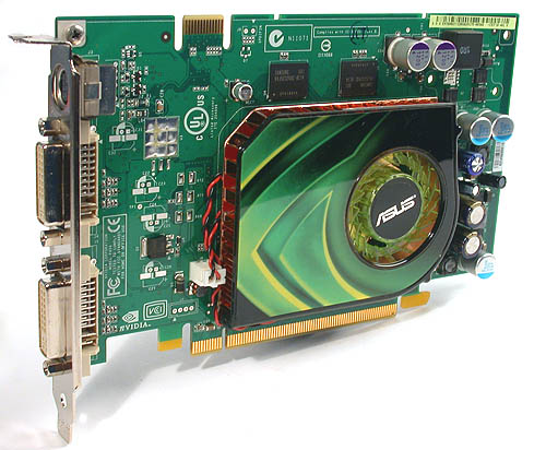 The ASUS EN7600GT sticks to the reference design in almost every aspect.