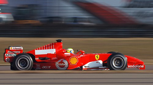 AMD, silent driving force behind the Scuderia Ferrari team for more than three years.