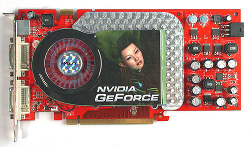 Red PCB for an NVIDIA card? You know at once that this is no reference card. The PCB design and power deliver circuitry are clearly different from the reference version in a bid to curb costs and better customize the card for its requirements.