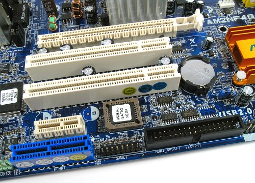 Expansion possibilities of the board include a PCIe x16 slot for discrete graphics upgrade, one PCIe x1, two PCI and a HDMR slot.