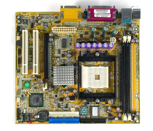 The Chaintech MK8T890 motherboard.