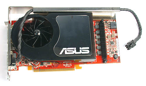 You will not mistake this ASUS Radeon X1800 XT for any other brand as it has a unique cooler that's not found in any of the other cards in our testing.