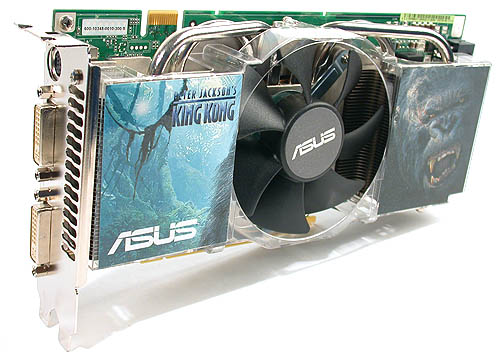 A King Kong product indeed as ASUS truthfully portrays that with their EN7900GTX.