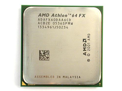 AMD Athlon 64 FX-60 processor.