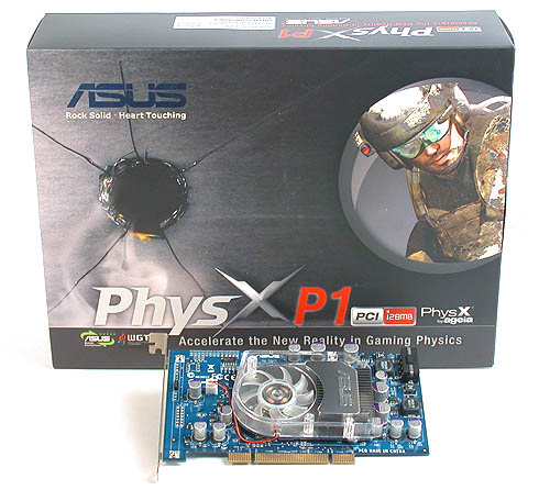 One of the first to retail: the ASUS PhysX P1 GRAW Edition.