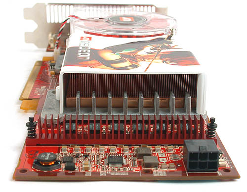RAM sinks for the power transistors do not help as much as they would seem. The temperatures can reach a peak of more than 70 degrees. You also need to connect directly to your power supply unit through the power cable provided.