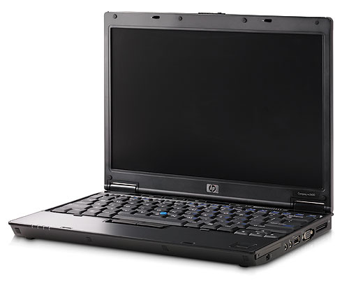 The thinnest and lightest two spindle notebook to date is the HP Compaq nc2400. Weighing less than 1.3kg and less than 25mm thin, the notebook features a 12.1-inch widescreen display and an optional integrated optical drive. It comes with either an Intel Core Solo or Intel Celeron M processor and features HP's Mobile Data Protection System 3D.
