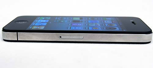 If you're looking for the SIM card slot, it's now at the right hand side and has been changed to a Micro-SIM slot.