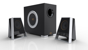 Altec Lansing VS2621 2.1 Speakers
