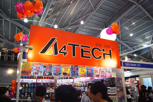 Looking for cheap mice and other peripherals? There's one place to go, A4Tech!