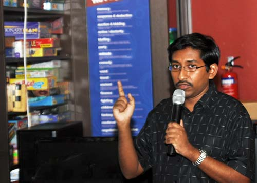 Vijay Anand, Editor for Hardware Zone, followed up his talk with another on SSDs and how to buy one.