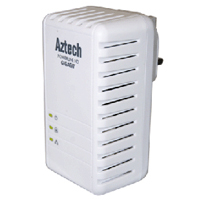 Aztech HomePlug HL280E 1Gbps AV Ethernet Adapter