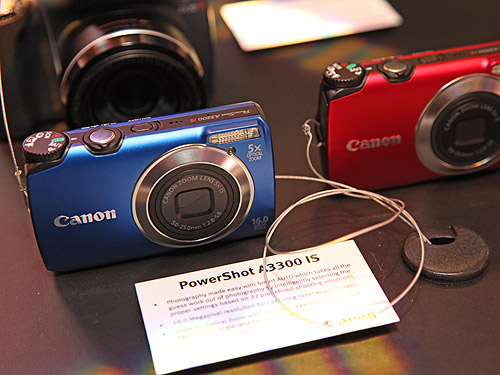 The Canon PowerShot A3300 IS have 32 predefined shooting situations in its advanced Smart AUTO feature and features 16 megapixel resolution, 5x zoom and a new Discreet Mode which turns off the camera's auto-focus assist beam, sound and flash, making it easier to capture a photo without unnecessary sound or distractions.