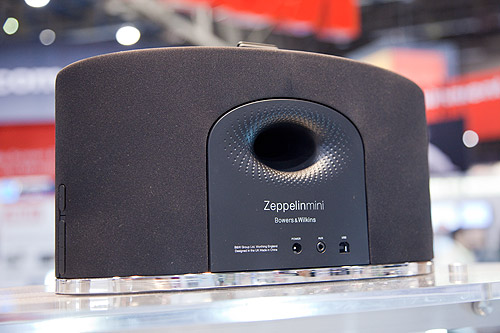 A rear view of the new Zeppelin mini.