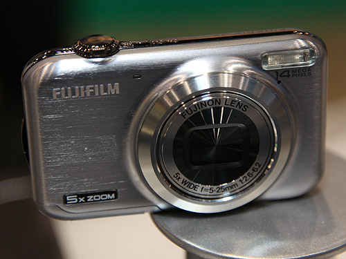 The FinePix JX300 is quite similar in features to the JV200 except that it comes with a 5x optical zoom lens.