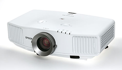 Also launched is the high-powered EB-5000 series of multimedia projectors. The EB-G5950 shown here sports brightness of 5,200 lumens, XGA resolution, and 2000:1 contrast ratio. It has a price tag of S$6,999.