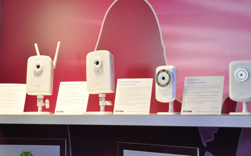 Here's a bunch of their new Wireless N network cameras (and one wired) that allow you to monitor a place over a network. Great for those security conscious types.