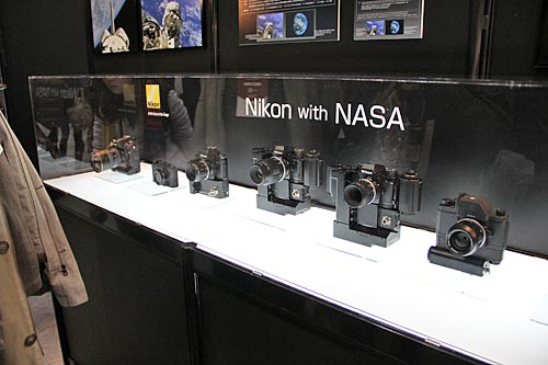 The Nikon cameras that NASA had used. Can you name all of them?