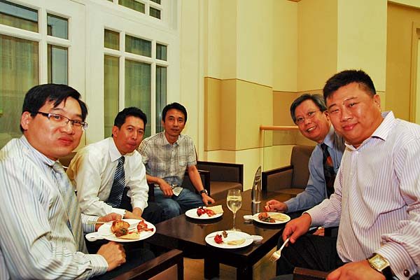 For some, it was a good opportunity to meet up with old friends, and network with new ones.
