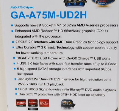 Here's the full specs list.