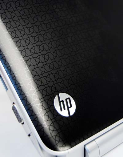 Note the HP Imprint finish.