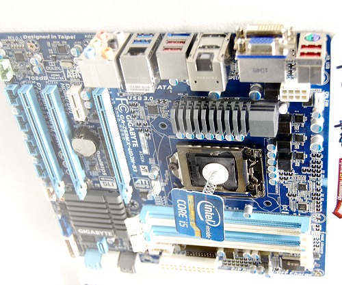 "And for those who need a more mainstream variant, meet the GA-Z68MX-UD2H-B3. We figure that the Z68 boards with the ""X"" nomenclature feature onboard video output courtesy of the Sandy Bridge processors. Apart from the video output ports, this micro-ATX board also supports Lucid's Virtu technology to take advantage of onboard and discrete graphics, Touch BIOS for Windows based BIOS manipulation, and all the other standard expectations like USB 3.0, SATA 6Gbps and many other Gigabyte-centric features."