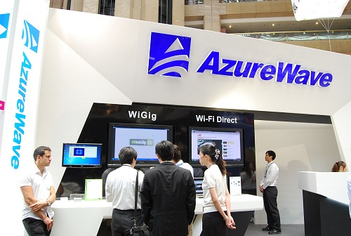 AzureWave, a subsidiary of ASUS, deals with wireless and networking equipment. What's interesting this year is their cooperation with Welocity to roll out the industry's first wireless gigabit standard - WiGig.