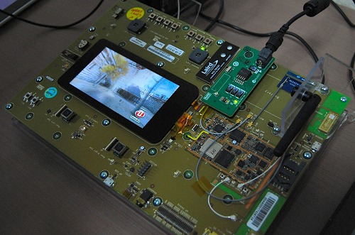 Here's a prototype Tegra 3 (Kal-El) development kit showing off 3D Vision in action at this early stage.