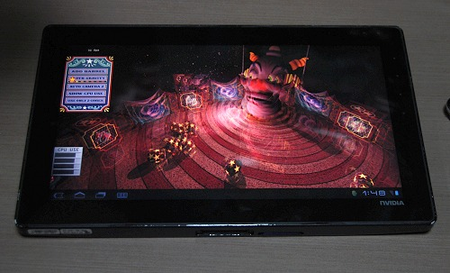 This is an upcoming game that would be available on Tegra Zone in the future and was demoed on Tegra 3 hardware. For this game, quad-core processing is necessary to ensure the game's full capabilities are unleashed and shown in its full glory. Of course game developers need only set a game quality control to ensure it is playable on other devices too - but with less fidelity.