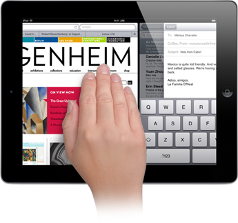 Multi-touch gestures, which were previewed in the earlier developer builds of iOS 4.3, will be official in iOS 5.