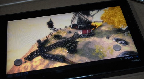 Some windmill tech demo to further showcase the GPU capabilities - also based on the OpenGL ES 2.0 API.