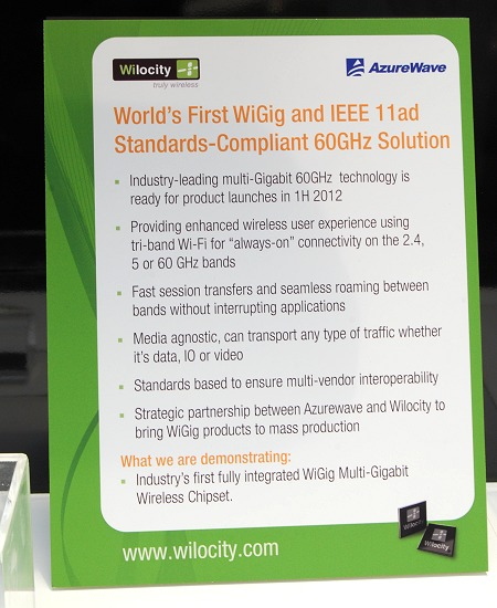 Here's more details on this WiGig device.