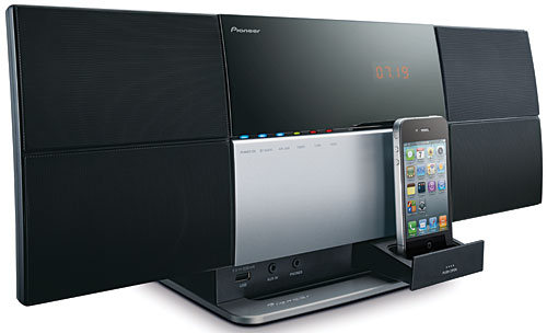 The X-SMC1 is one sleek-looking A/V micro system.