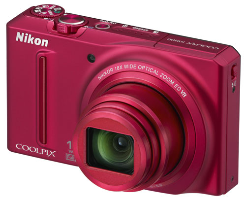 The Coolpix S9100 looks super sleek (especially in red), but does it perform?