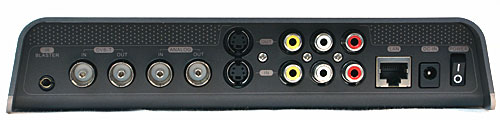 It streams HDTV broadcasts, but not from HDMI or component output-equipped devices.