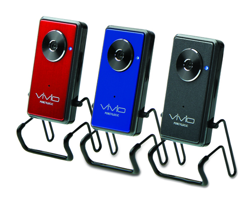 The colorful, slim and light PowerLogic Vivio HD5N Webcams.