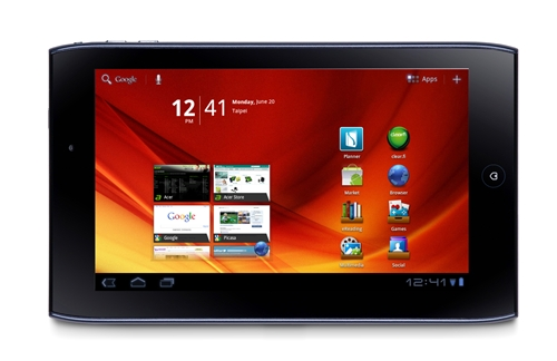 The Acer Iconia Tab A100 looks ready to take on the BlackBerry PlayBook and HTC Flyer.